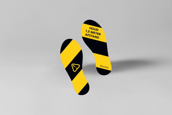 SDSNL00113-stickerset-voetstappen-9cm-x-23cm-geel-zwart
